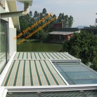 Buy cheap Green House Motorized Remote Control Conservatory Roof  Electrically Operated Sky Awning from wholesalers
