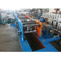 Customized PU Foam Roller Shutter Door Roll Forming Machine With PLC Control