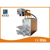 Buy cheap CE FDA Raycus 30w Fiber Laser Marking Machine / Laser Marker For Metal from wholesalers