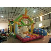 Quality Giraffe animals inflatable obstacle courses cute deer theme obstacle courses inflatable athletics sport games courses for sale