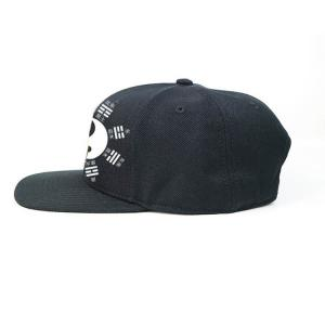 Quality Flat bill Customized 7holes plastic buckle Chinese style Tai Ji logo Sports snapback Hats Caps for sale