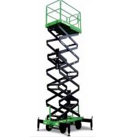 Buy cheap Manual Pushing Mobile Scissor Lift Table Aerial Work Platform 500kg 12m from wholesalers