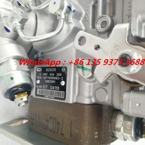 Quality Genuine Cummins 4bt3.9 Engine Fuel Injection Pump 0460424289 3963961 3963962 for sale