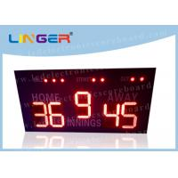Quality 16 Inch 400mm LED Baseball Scoreboard For High School Simple Operation for sale