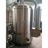 Quality 1000L Red Copper Shell Inner Stainless Steel Three Vessels Brewhouse for sale
