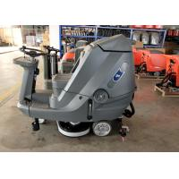 Quality Driving Type Battery Powered Floor Scrubber High Efficiency 5200 M2 Per Hour for sale