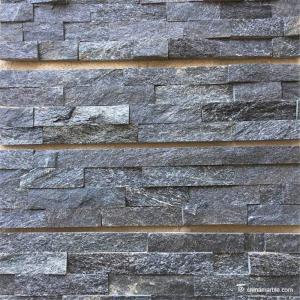Slate Culture  Stone Natural stone Midnight black wallstone 60x15cm