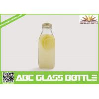 Quality Wholesale eco-friendly clear juice glass bottle bulk for sale