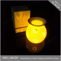 Quality Classic Electric Oil Burner With Light , Christmas Gift  Perfume Oil Lamp Burners for sale