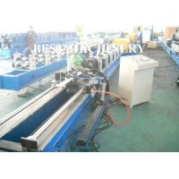 Quality 95 / 77 / 55 PU Foam Roller Shutter Door Slate Roll Forming Machine Euro Style for sale