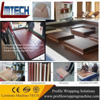PVC Vacuum membrane press machine for covering veneer for doors making for woodworking wit for sale