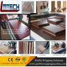 PVC veneer wood vacuum membrane press machine for door making for sale