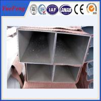 Quality Best quality unique aluminum extruded profile square tube for sale