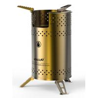 Buy cheap usb biomass camping stove Durable camping wood/biomass stove power bank stove from wholesalers