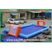 Quality Word Cup PVC Inflatable Sports Games , Customized Inflatable Football Pitch for sale