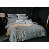 Quality Fashionable Blue Modern Duvet Covers 4 Pcs Twin / Queen / King Size OEM for sale