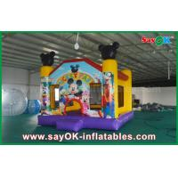 Quality Micky Mouse Inflatable Jumping Castle Popular Happy Hop Bouncy Castle for sale
