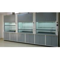 China Stainless Steel Laboratory Vent Hood / Modern Fume Hood Protect Lab Environment on sale