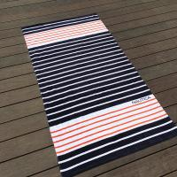 Quality Eco Friendly Chevron Printed Beach Towels For Shower High Water - Absorbing for sale