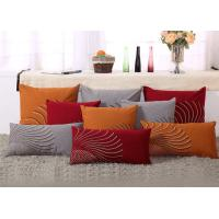 Quality 100% Linen Decorative Cushion Covers Free Style Pattern Embroidered Throw Pillows for sale