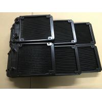 Quality 27mm thickness water cooled cpu radiator 80&120&240&360mm with G1/4 screw thread for sale
