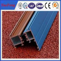 Quality China aluminium sliding doors accessories profile,powder coating aluminium profiles for sale