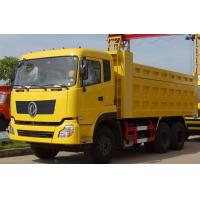 Quality DONGFENG Brand Used Dump Truck 85 Km/H Max Speed With B210 33 Engine for sale