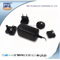 Quality Switching 12v Power Adapter , Interchangeable Plug Power Adapter AC DC for sale