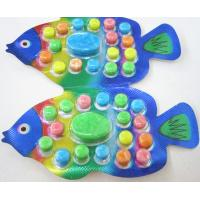 Quality 2.8g Fish shape compressed candy / multi friut flavor colorful sweet children's favorite for sale