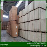 High brightness 200g 250g 300g 350g Art card paper in China for sale
