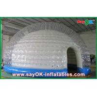 Quality 0.45mm PVC Tarpaulin Inflatable Wedding Tent / Custom Inflatable Tent for sale