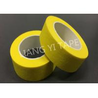 High Temperatrue Paper Masking Tape For Electronics / Automotive 0.15mm Thickness for sale
