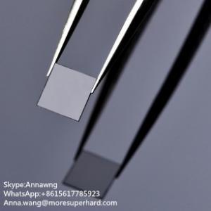 Quality Single crystal CVD diamond plates,MCD synthetic diamond plate,SCD diamond plates factory price for sale