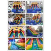 Quality Gift Inflatable Double Lane Slide for sale