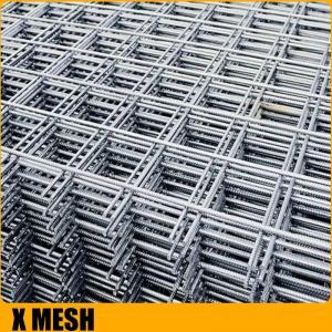 Quality High tensil Square Rib Mesh concrete reinforcement mesh for Construction reinforcement for sale