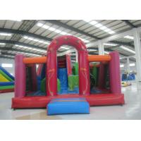 Quality Clown Theme Water Bouncy Castle 7 X 5x 3.8m , Outdoor Amusement Adult Slip And Slide for sale