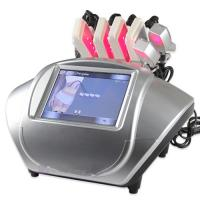 China Intensive Physical Lipolysis Lipo Laser Cellulite Reduction Machine , 0.72w for sale