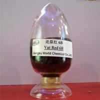 Quality High fastness environment friendly Indanthrene Dye C I Vat red 13 Vat red 6B dyes for sale