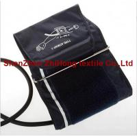 Reusable adult double tube  blood pressure cuff with inflation bag for sale