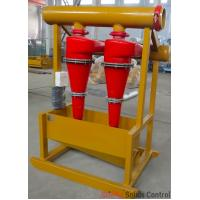 Quality Oil rig drilling mud process solids control hydrocyclone desander separator for sale