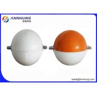 Quality Aluminum Materia  Aircraft Warning Sphere 600 Mm / Customized Diameter for sale