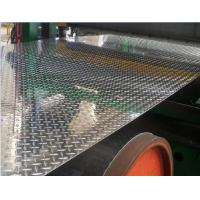 Quality Customized Length Aluminium Diamond Plate With Ribs For Boat Superstructure for sale