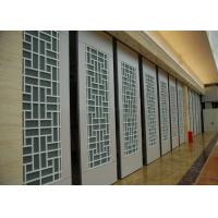 Quality Interior Suspended Sliding Glass Folding Partition 4 Standard / Parking Track Systems for sale
