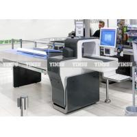China Interactive Self Checkout Kiosk Stainless Steel Material With Pin Pad on sale