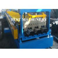 Buy Galvanized Steel Floor Deck Roll Forming Machine , Floor Tile Roll Forming Machine at wholesale prices
