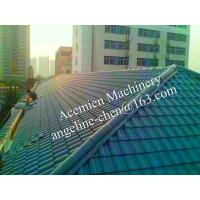 Quality plastic PVC villa pitched roof glazed tile for sale