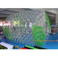 Quality 2.7*2.4*1.8m Adults Inflatable Water Roller Zorb Human Ball With 0.7MM TPU with CE for sale