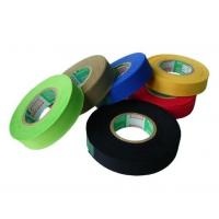 Yellow color blended fabric superior elasticity washability adhesive elastic tape for sale