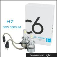 Quality New 360° Viewing Angle LED H7 Headlight 36W C6 Lighting Bulb IP67 Waterproof for Jeep for sale
