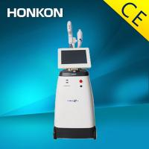 Quality Ultrasound Fat Reduction Machine / RF Ultrasonic Cavitation Body Slimming Machine for sale